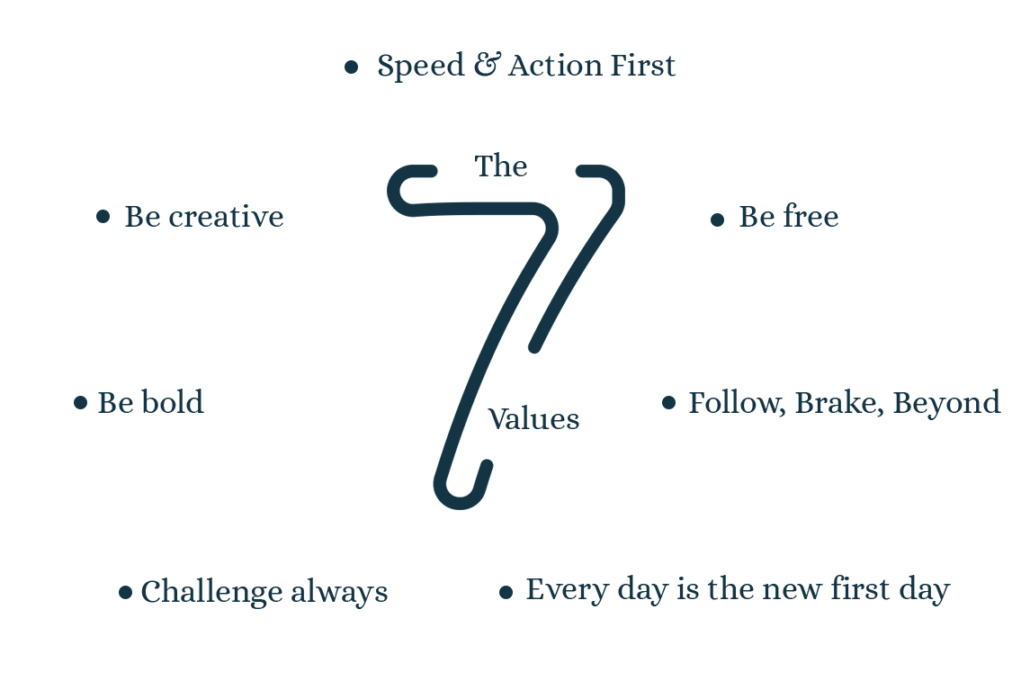 The 7 values